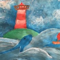 Koktejl v moři, Rebeka Šichorová, 9 let