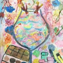 Koktejl z umělecké párty, Emma Slaninová, 10 let