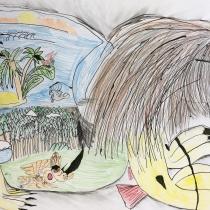 Mýtické zvíře ve svém prostředí, Gabriel Gold, 9 let