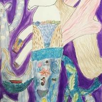 Mýtické zvíře ve svém prostřeí, Veronika Mazačová, 9 let