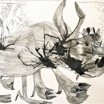 Zvíře ze skvrny, Gabriel Gold, 9 let