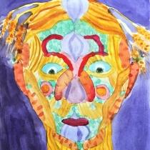 Portrét podle Arcimbolda, Jakub Szelong, 8 let