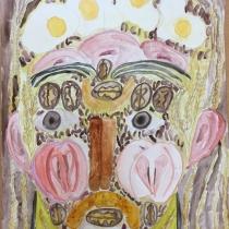 Portrét podle Arcimbolda, Anna Honzková, 10 let